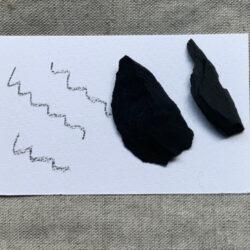 Zeichenschiefer – Schwarze Kreide